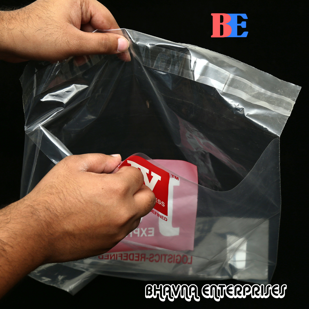 Security poly mailer bag