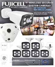 Fujicell Wireless Security Cameras Along With Motion Recorder On Super Deals