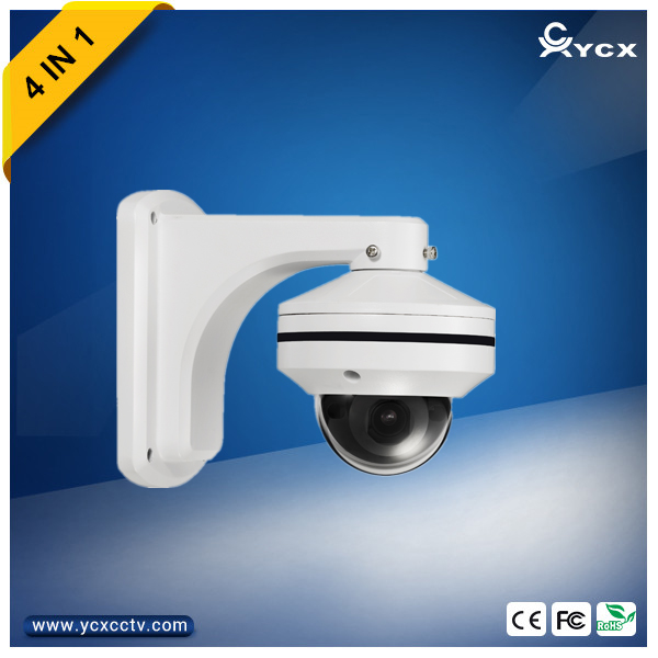 3X MINI PTZ Dome Camera with 2.8-8mm motorized lens and SONY IMX323 sensor