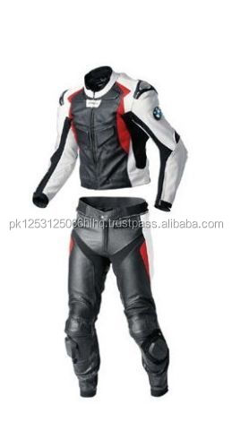 MEN'S MOTORBIKE 100% COWHIDE LEATHER SUIT