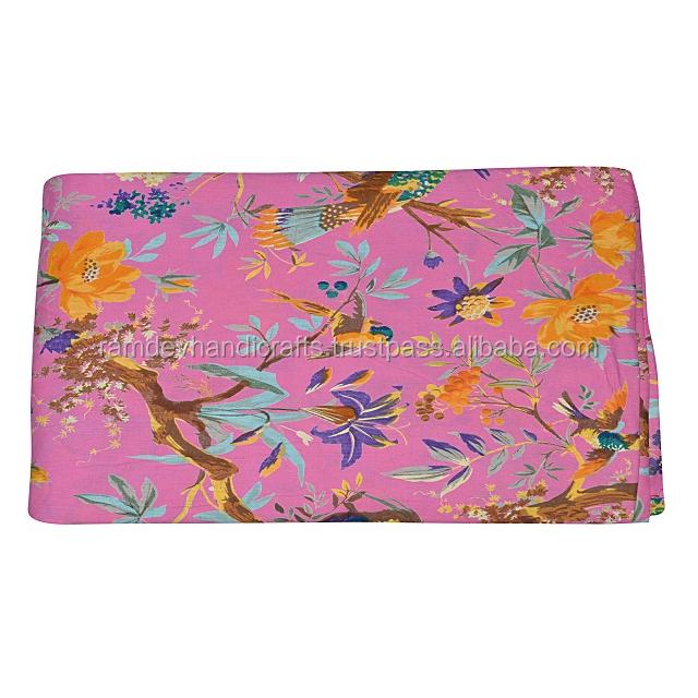 textile/cotton fabric printing,beautiful Indian hand block print running loose cotton fabric Indian asian