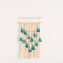 ombre macrame wall hanging handmade macrame woven wall hanging