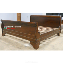 Antique Mahogany Indonesian Bed