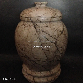 Marina Marble Eastern European Cremation Urns urny in Cheap Price