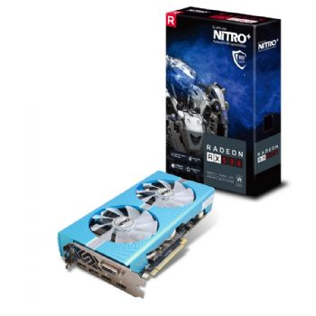 SAPPHIRE NITRO + Radeon RX 580 8GD5 Special Edition(METAL BLUE)