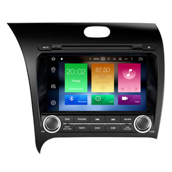 HIFIMAX Android 8.0 Car Radio Touch Screen Car DVD Player For KIA K3/ Forte / Cerato 2013 Multimedia GPS Nanvigation