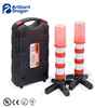 Road Safety Traffic Warning Stick with Torch, 2 in 1 Warning Stick with Suit case