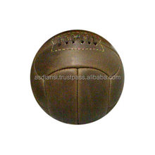retro balls Antique Leather football antique soccer balls old fashioned leather balls
