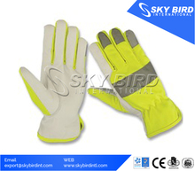 Hi-Vis Molded Knuckle Impact Protection Hand Miners safety Gloves