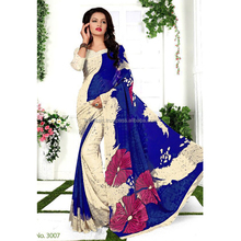 Wholesale Simple Printed Daily Wear Saree