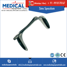 Stainless Steel Made Sims Vaginal Speculum