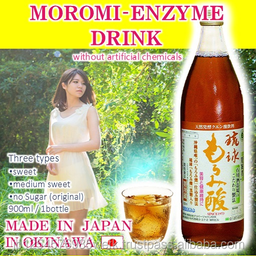 Premium Moromi enzyme drink for improve Circulation of body fluids made in Japan