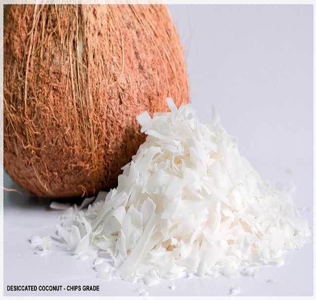 VIETNAM DESICCATED COCONUT - CHIPS