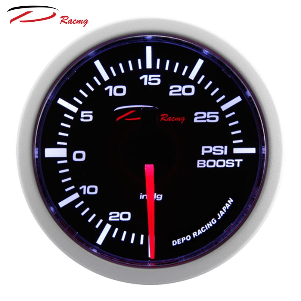 52mm WS Turbo Meter Japanese AutoGauge Depo Racing Boost Gauge