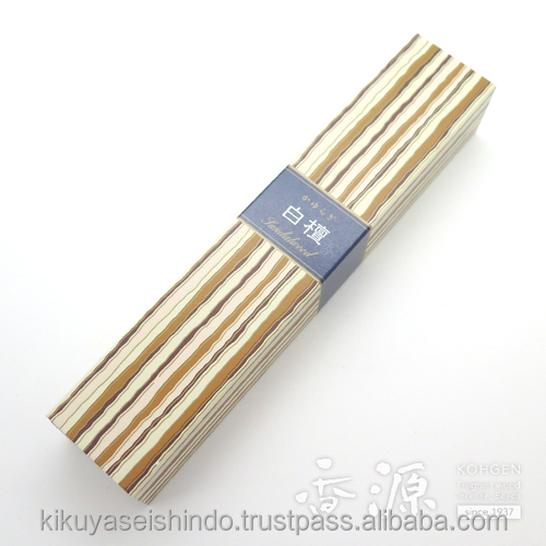 Japanese incense, Sandalwood, Kayuragi series, (40 sticks), Nippon Kodo