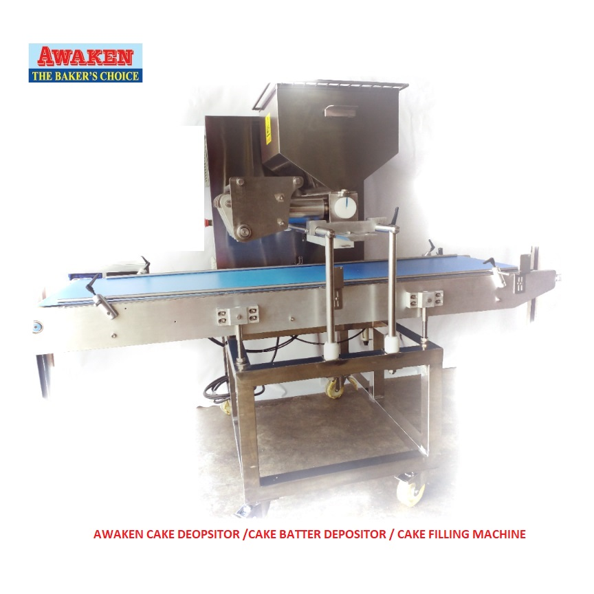 Factory direct supply Malaysia made PLC Control Automatic Cup Cake Filling Depositor Machine for Thailand Indonesia Myanmar