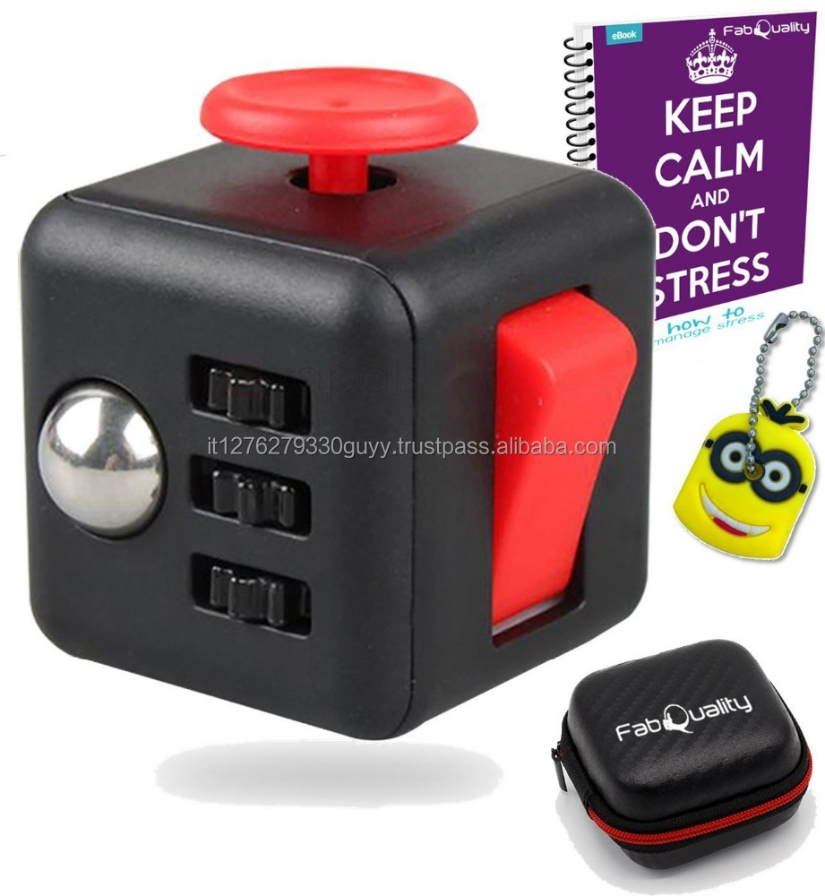 Cube Anxiety Attention Toy - Relieves Stress And Anxiety And Relax for Children and Adults