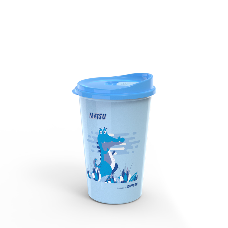 Hot and cold water cup in PP Plastics made in Vietnam high quality and safe for consumer
