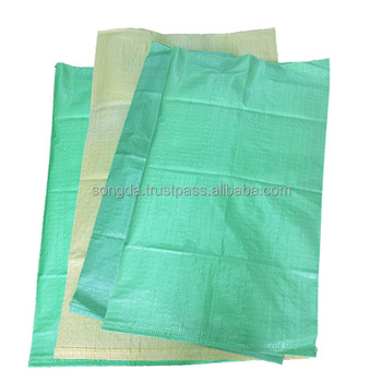 25kg 50kg high quality color plastic woven polypropylene bag for grains rice flour