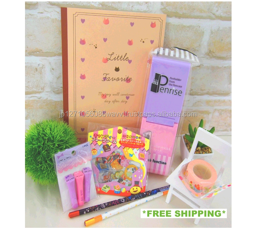 Well packaged stationery products list assorted set great for present