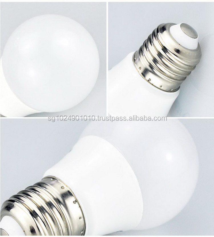 Epistar LED chips7W led bulbs A60,15w LED bulb E27 B22 with Plastic Lamp Body