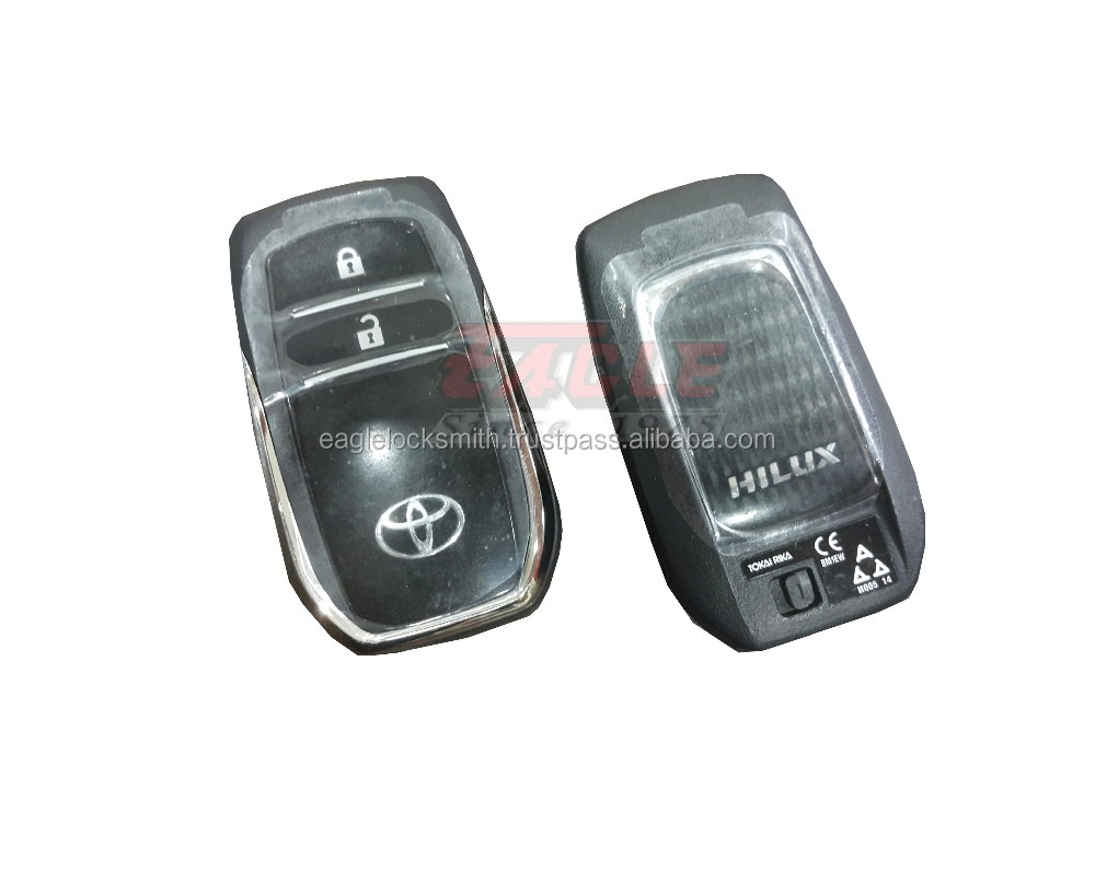Toyota Hilux 2 Button Smart Proximity Remote 2015