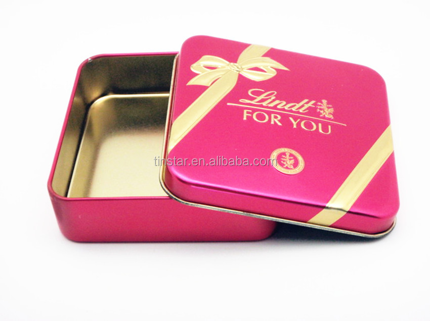 high quality small tin package for gift wholesale