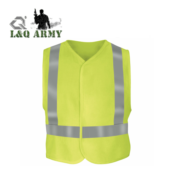 High Visible Safety Vest Visibility Flame Resistant Safety Vest
