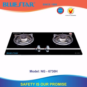 built in gas stove with 2 burner 82-82mm