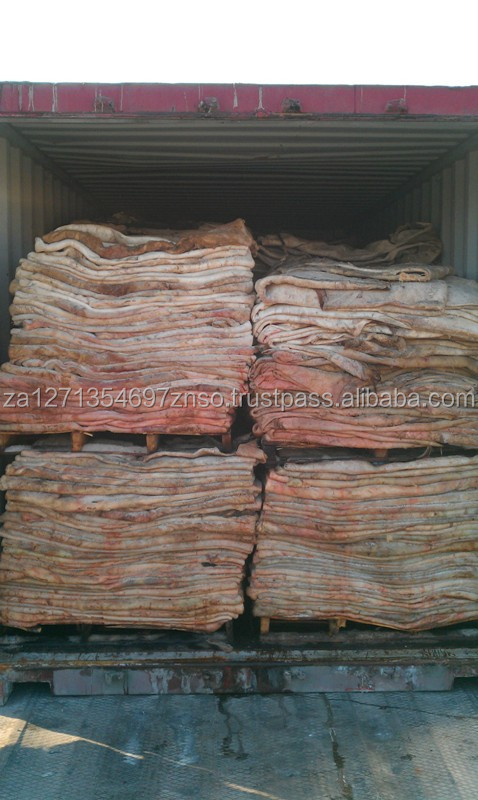 Wet Salted Cattle Hides for sale Africa