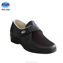 Genuine Leather Safety Shoes For Diabetic Foot Problems Best Sale Medical Shoes