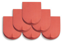 Antibacterial Red Roofing Tiles Vietnam Clay Roofing Tiles Terracotta Roof Tiles