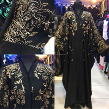 Dubai abaya, open abaya, burqa ,jilbab ,caftan , islamic dress wholesale 2018 collection