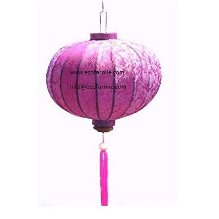Ball shaped Vietnam classic traditional beautiful decorative hanging lanterns/ Cheap price handmade silk lanterns