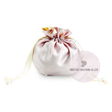 Beautiful Thai Silk & Satin Drawstring Bags And Wedding Favour Bags