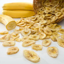 freeze dried banana fruit