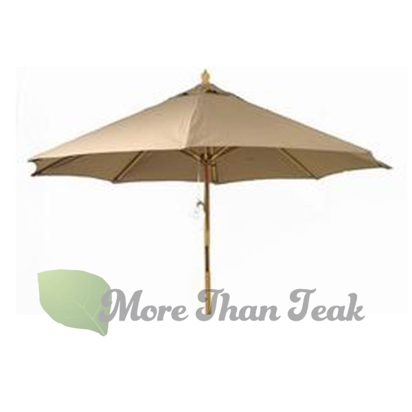 ROUND UMBRELLA 250 teak from Jepara Indonesia for Garden/Outdoor furniture