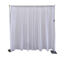 RK Pipe and Drape wedding decoration wedding ceiling drape