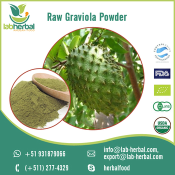 100% Pure and Natural Raw Graviola Extract Powder