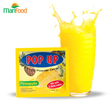 Pop Up Indonesia Pineapple Juice Instant Fruit Drink Juice Powder