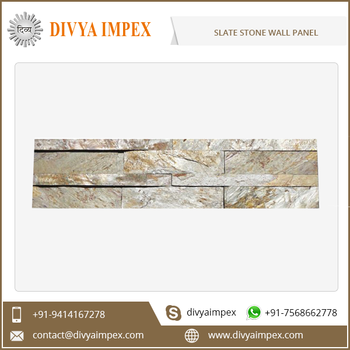 Water Resistant Slate Stone Faux Wall Panel Price