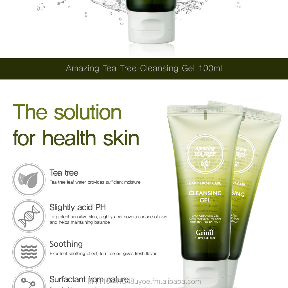 Amazing tea tree cleansing gel