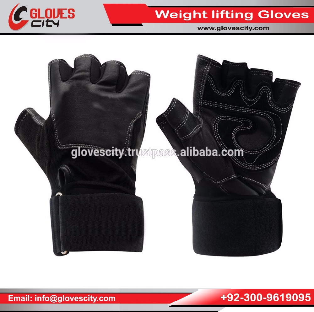 Real Sheepskin Leather Weightlifting Gloves Exercise Gloves Perfect for Weightlifting, Crossfit, Bodybuilding and Power Lifting