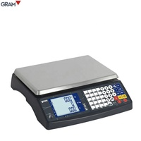 30kg OIML Approved Electronic Price Computing bench weighing Scale With RS232 Shop Retail weight scale