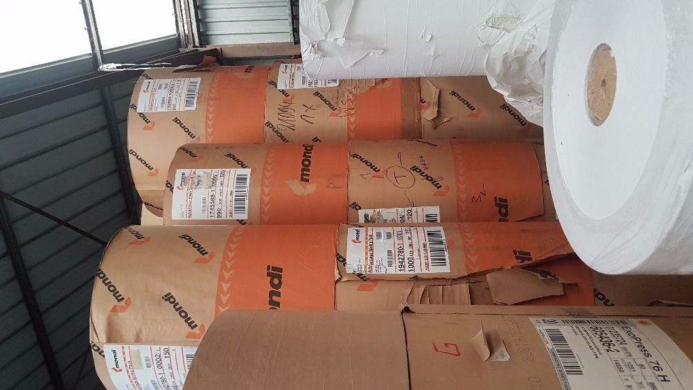 Brown Craft Mondi paper rolls for bags