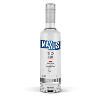 Maxus Polish Vodka with 40% Alcohol Content in Bulk ar Market Leading Price