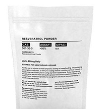 GMP/Halal/ISO Certificated Resveratrol 98% Bulk Powder