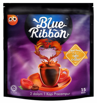 Blue Ribbon 2 in 1 Coffee with Creamer (No Sugar)