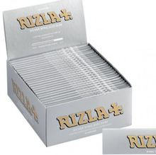 PREMIUM RIZLA RED/GREEN/SILVER/BLUE CIGARETTE ROLLING PAPERS + Tips