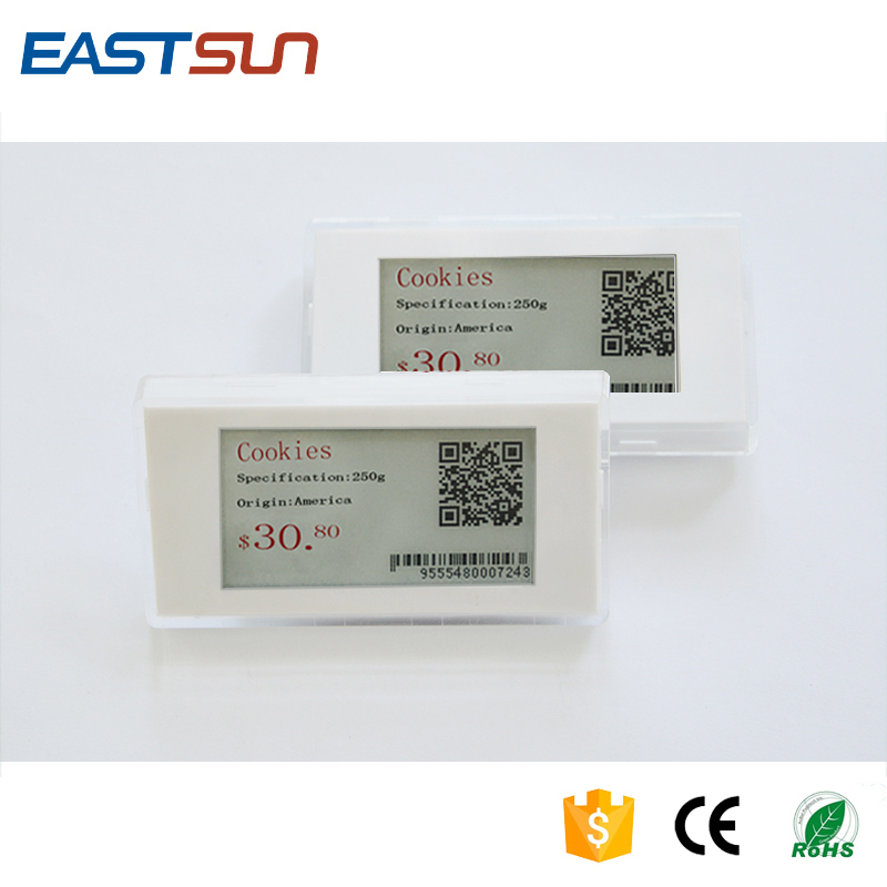 2.9 inch smart tag digital price e paper display for supermarket